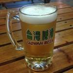 【旅行記】2013年1泊弾丸台湾之行③台湾ビール工場で出来たて生ビール→夜市ハシゴへ!